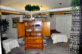 Colorado Ski Lodging Massage Room